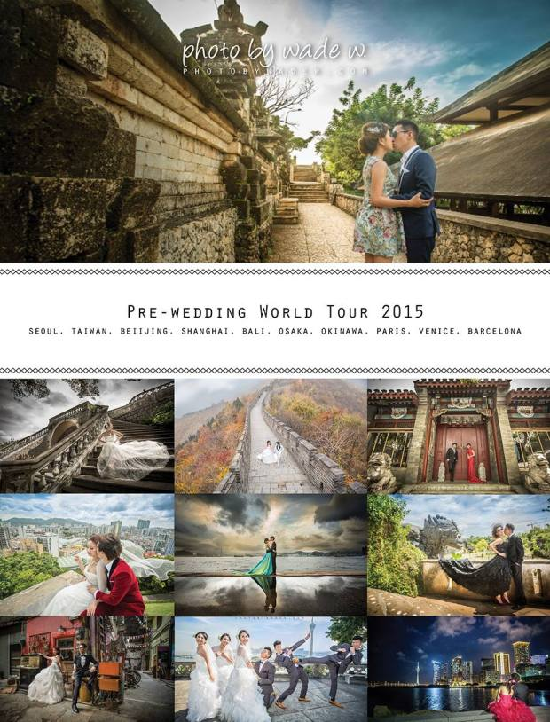 Photo by Wade W. Overseas pre-wedding 2015