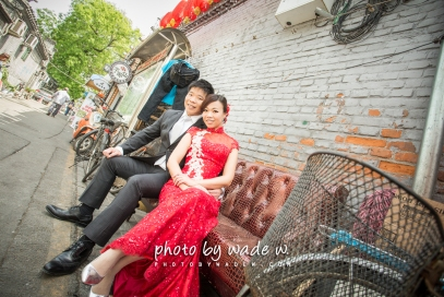 Beijing Pre-wedding Photo by wade W. Overseas
