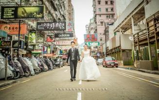 Pre-wedding Hong Kong 香港 photo by wade w Mong Kok 旺角