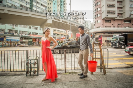 Pre-wedding Hong Kong 香港 photo by wade w Mong Kok 旺角
