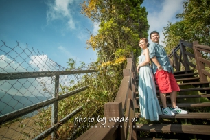 老英格蘭 Taichung pre-wedding photo by wade w 台中 海外 清境