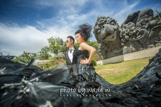 pre-wedding Bali 峇里 photo by wade w.
