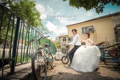 Photo by Wade W. 香港 自助婚紗