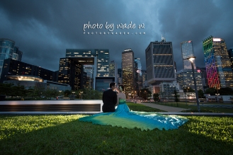 Photo by wade w. hong kong pre-wedding central 自助婚紗 香港