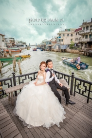 pre-wedding hong kong wedding photo by wade w. central tai o 大澳 中環 上環