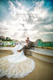 Photo by wade Spain Barcelona overseas pre-wedding 1200