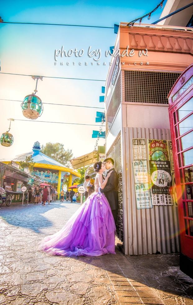 1 Photo by wade w Ocean Park 海洋公園 pre-wedding overseas pre-wedding1200