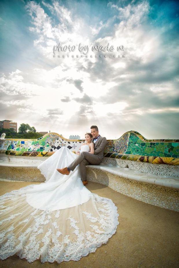 Taichung & Barcelona 台中中 巴塞羅納 巴塞羅拿 pre-wedding  自助婚紗4