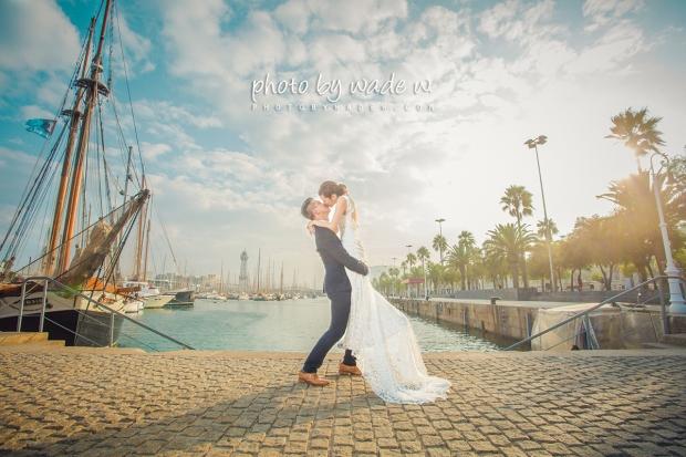 Taichung & Barcelona 台中中 巴塞羅納 巴塞羅拿 pre-wedding  自助婚紗5 copy