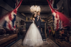 PRe-wedding photo by wade de w gallery studio muse woook lab vintage top ten 1200