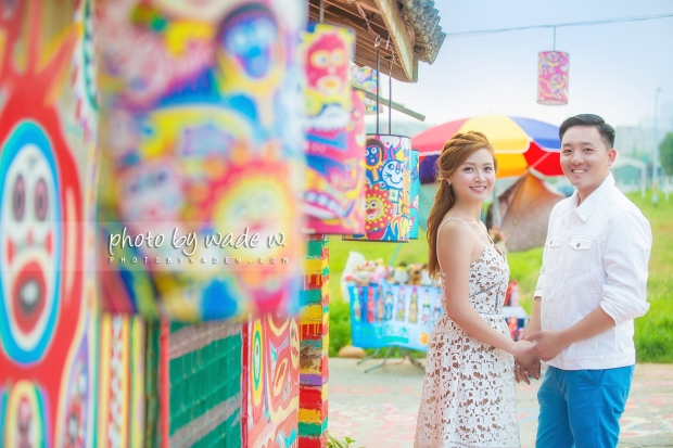 4 taichung 彩虹眷村 台中 pre-wedding photo by wade w overseas 高美濕地