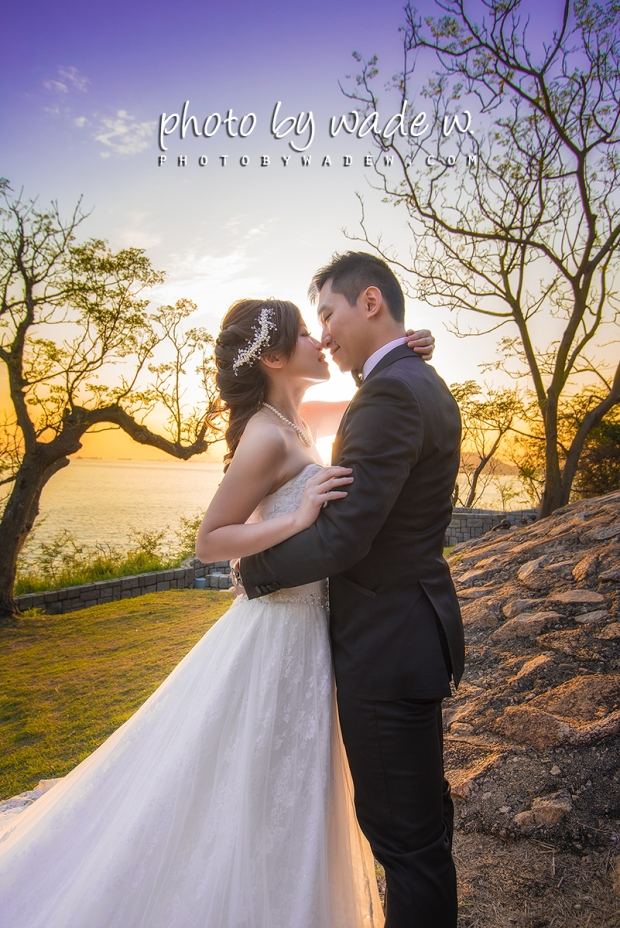 Mandy & Ian Photo by wade w de w gallery hong kong pre-wedding 香港婚紗相 赤柱 山頂 1200