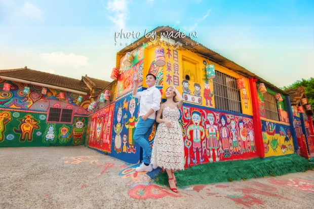 taichung 彩虹眷村 台中 pre-wedding photo by wade w overseas 高美濕地