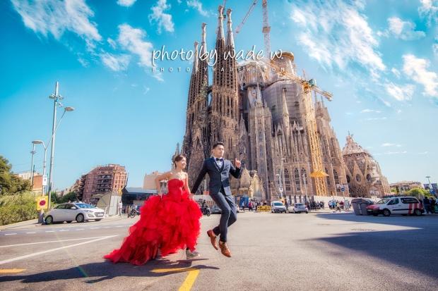 1200 Barcelona 巴塞羅納 巴塞隆拿 photo by wade w overseas pre-wedding 老英格蘭莊園 巴黎 la Sagrada Familia Barcelona Spain  copy