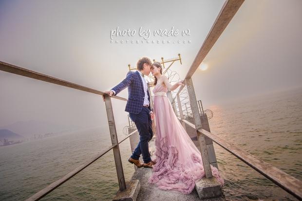 2 威尼斯 摩天輪 HK macau Pre-wedding 婚紗相 photo by wade w 大澳 十大 香港 老英格蘭 台中市 1200