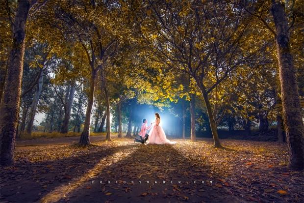 2 Pre-wedding 迪欣湖 photo by wade w 婚紗相 香港 石澳 top 10 威尼斯人 老英格蘭 台中 台灣 1200