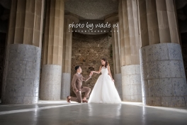 Barcelona 巴塞羅納 巴塞隆拿 photo by wade w overseas pre-wedding 老英格蘭莊園 巴黎 la Sagrada Familia Barcelona Spain 2048- 01