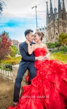 Barcelona 巴塞羅納 巴塞隆拿 photo by wade w overseas pre-wedding 老英格蘭莊園 巴黎 la Sagrada Familia Barcelona Spain 2048- 12