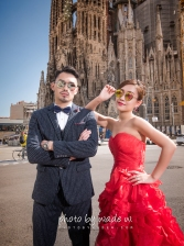 Barcelona 巴塞羅納 巴塞隆拿 photo by wade w overseas pre-wedding 老英格蘭莊園 巴黎 la Sagrada Familia Barcelona Spain 2048- 13