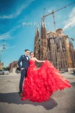 Barcelona 巴塞羅納 巴塞隆拿 photo by wade w overseas pre-wedding 老英格蘭莊園 巴黎 la Sagrada Familia Barcelona Spain 2048- 14