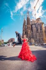 Barcelona 巴塞羅納 巴塞隆拿 photo by wade w overseas pre-wedding 老英格蘭莊園 巴黎 la Sagrada Familia Barcelona Spain 2048- 15