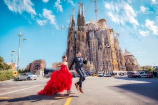 Barcelona 巴塞羅納 巴塞隆拿 photo by wade w overseas pre-wedding 老英格蘭莊園 巴黎 la Sagrada Familia Barcelona Spain 2048- 16