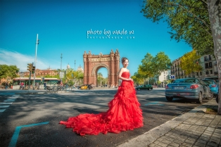 Barcelona 巴塞羅納 巴塞隆拿 photo by wade w overseas pre-wedding 老英格蘭莊園 巴黎 la Sagrada Familia Barcelona Spain 2048- 17