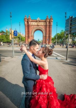 Barcelona 巴塞羅納 巴塞隆拿 photo by wade w overseas pre-wedding 老英格蘭莊園 巴黎 la Sagrada Familia Barcelona Spain 2048- 18