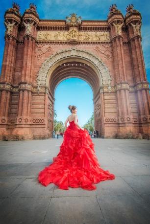 Barcelona 巴塞羅納 巴塞隆拿 photo by wade w overseas pre-wedding 老英格蘭莊園 巴黎 la Sagrada Familia Barcelona Spain 2048- 19