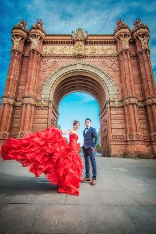 Barcelona 巴塞羅納 巴塞隆拿 photo by wade w overseas pre-wedding 老英格蘭莊園 巴黎 la Sagrada Familia Barcelona Spain 2048- 20