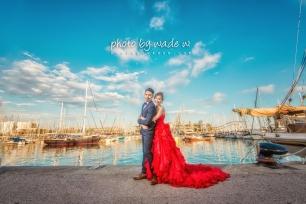 Barcelona 巴塞羅納 巴塞隆拿 photo by wade w overseas pre-wedding 老英格蘭莊園 巴黎 la Sagrada Familia Barcelona Spain 2048- 31