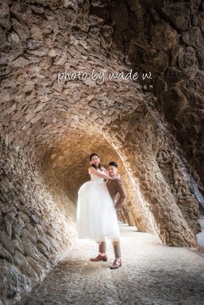 Barcelona 巴塞羅納 巴塞隆拿 photo by wade w overseas pre-wedding 老英格蘭莊園 巴黎 la Sagrada Familia Barcelona Spain 2048- 07
