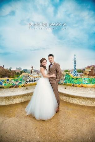 Barcelona 巴塞羅納 巴塞隆拿 photo by wade w overseas pre-wedding 老英格蘭莊園 巴黎 la Sagrada Familia Barcelona Spain 2048- 08
