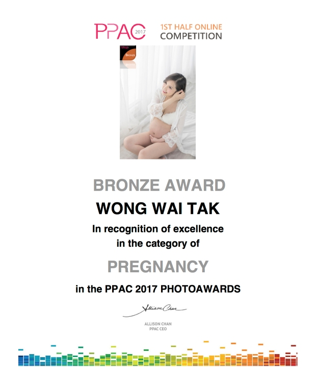 2017 PPAC 1st haf competition Award photo by wade w woook de w gallery top ten maternity portrait 4