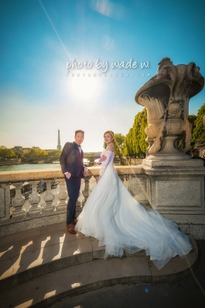 12 2048 Pont Alexandre III Paris Pre-wedding top ten overseas Photo by wade 巴黎 海外 Destination 羅浮宮 Musée du Louvre 歐洲 europe 老英格蘭