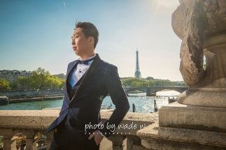 13 2048 Pont Alexandre III Paris Pre-wedding top ten overseas Photo by wade 巴黎 海外 Destination 羅浮宮 Musée du Louvre 歐洲 europe 老英格蘭