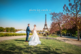 16 2048 Pont Alexandre III Paris Pre-wedding top ten overseas Photo by wade 巴黎 海外 Destination 羅浮宮 Musée du Louvre 歐洲 europe 老英格蘭
