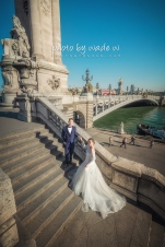9 2048 Pont Alexandre III Paris Pre-wedding top ten overseas Photo by wade 巴黎 海外 Destination 羅浮宮 Musée du Louvre 歐洲 europe 老英格蘭
