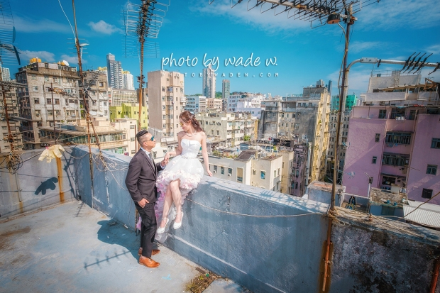 1200 Pre-wedding hk hong kong overseas 老英格蘭 wedding day photo by wade 深水埗 老香港 天台 十大 top 10 wedding photographers -01