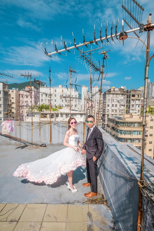 1200 Pre-wedding hk hong kong overseas 老英格蘭 wedding day photo by wade 深水埗 老香港 天台 十大 top 10 wedding photographers -04