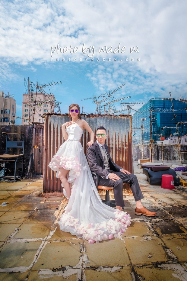 1200 Pre-wedding hk hong kong overseas 老英格蘭 wedding day photo by wade 深水埗 老香港 天台 十大 top 10 wedding photographers -09