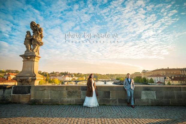 5 2048 Prague pre-wedding europe 老英格蘭 威尼斯 photo by wade w 天文鐘 布拉格 paris 巴黎