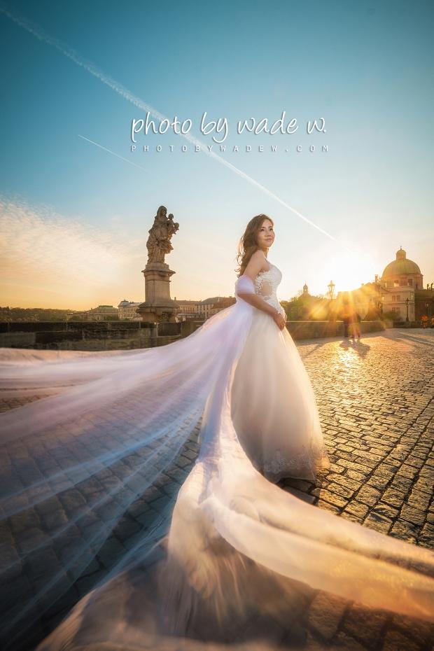 6 2048 Prague pre-wedding europe 老英格蘭 威尼斯 photo by wade w 天文鐘 布拉格 paris 巴黎