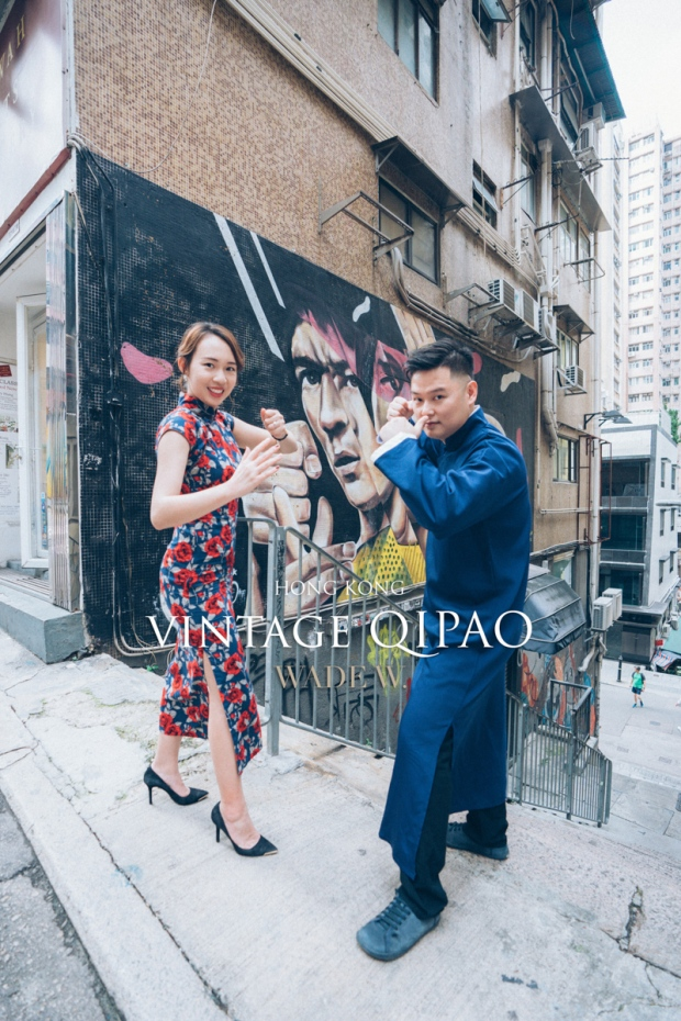 1200 QIPAO DISCOVER HK TRAVEL HONG KONG PRE-WEDDING旗袍 光影-35
