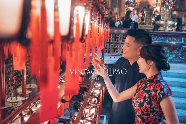 1200 QIPAO DISCOVER HK TRAVEL HONG KONG PRE-WEDDING旗袍 光影-42