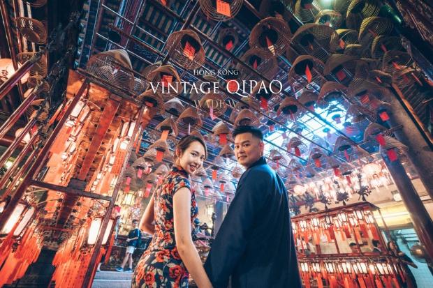 1200 QIPAO DISCOVER HK TRAVEL HONG KONG PRE-WEDDING旗袍 光影-45