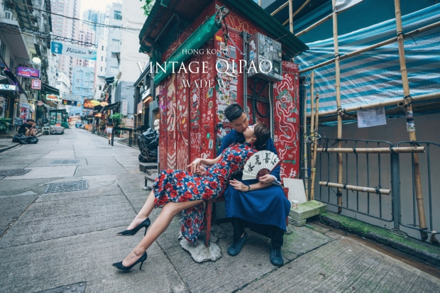 1200 QIPAO DISCOVER HK TRAVEL HONG KONG PRE-WEDDING旗袍 光影-61