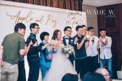 Photo by wade W 光影 wedding day big day 婚禮 Shangrila hong kong top 10西式 cocktailparty香港-103 copy