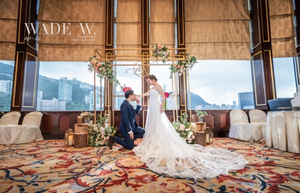 Photo by wade W 光影 wedding day big day 婚禮 Shangrila hong kong top 10西式 cocktailparty香港-107 copy