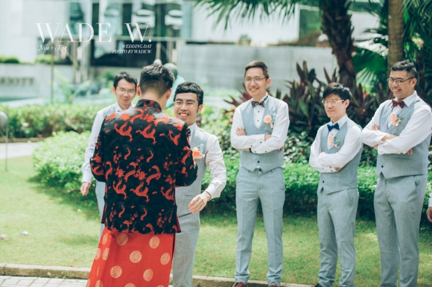 Photo by Wade W big day wedding day top 10 光影 婚禮 攝影 photojournalism conrad Island shangrila -37